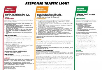 Traffic light response